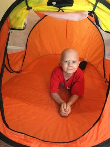 Kisses From Keegan and Friends Receives Donation to Purchase Tents for Children With Cancer